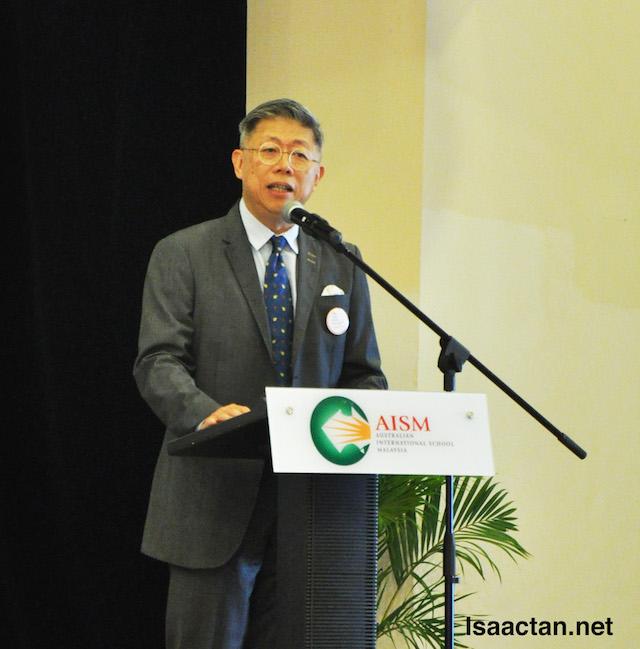BK Gan, President of Taylors Schools.