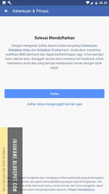 Cara Mendaftar Facebook Dengan Cepat