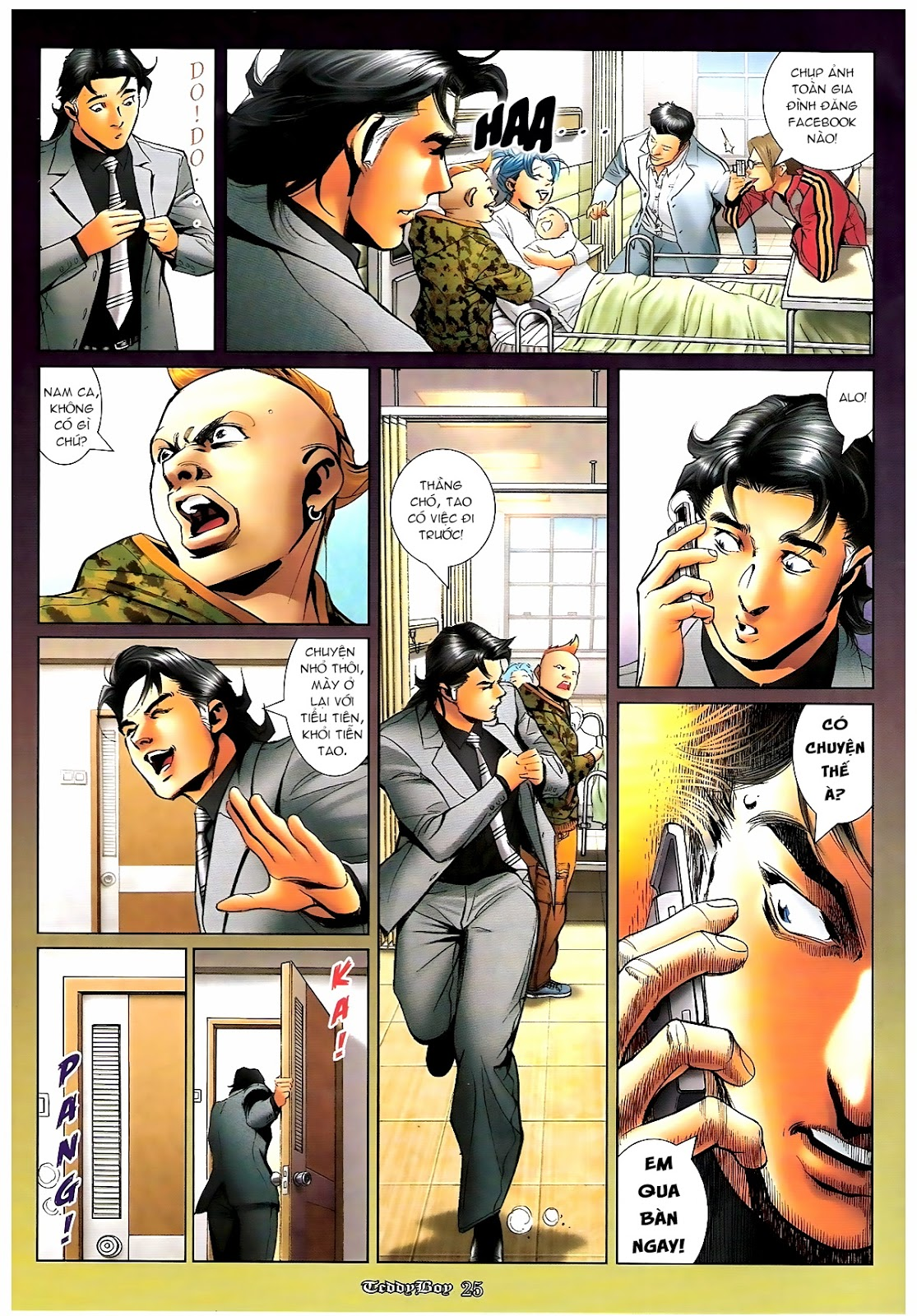 Người Trong Giang Hồ - Chapter 1190: Con của Chó Xám - Pic 22