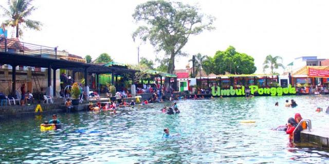 kolam untuk anak-anak umbul ponggok