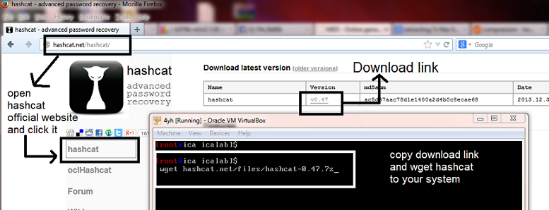 Hashcat setup on linux os and its usage | Start With Linux