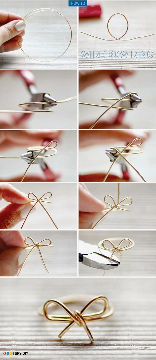 I love DIY ... UN LAZO EN TU ANILLO