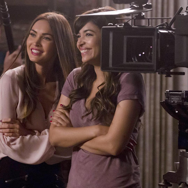 Megan-Fox-New-Girl-Episode-Image-in-Instagram