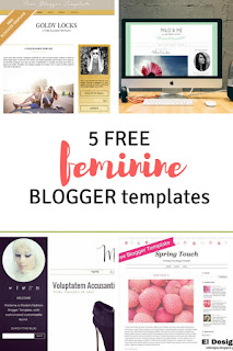 Best free feminine blogger templates