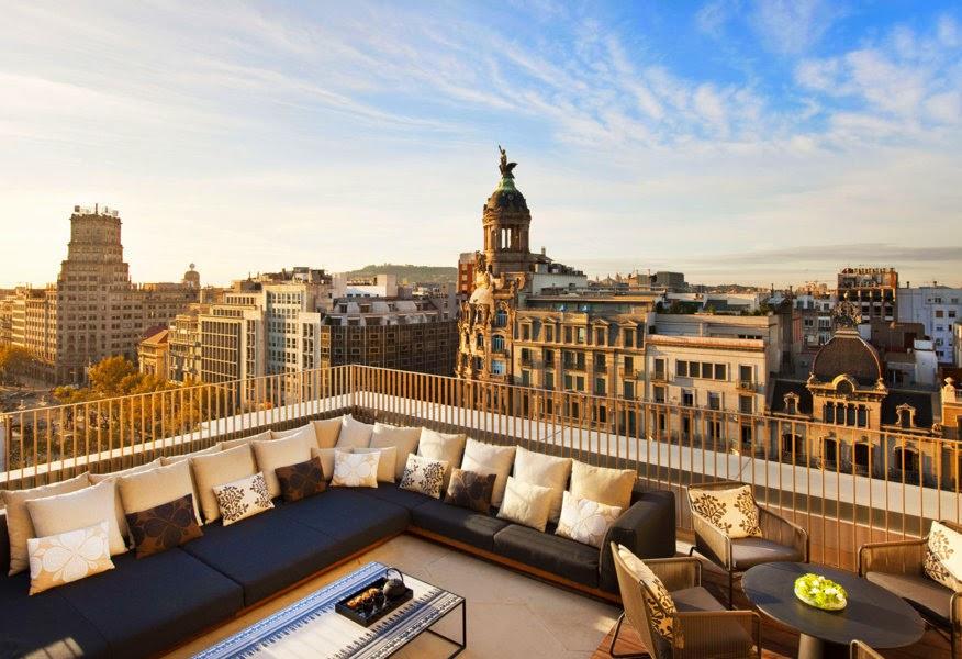 Hoteles de lujosos de Barcelona