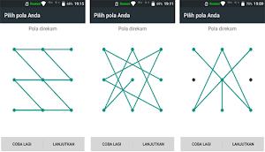 Cara Membuat Pola Kunci Layar Yang Sulit Di Android