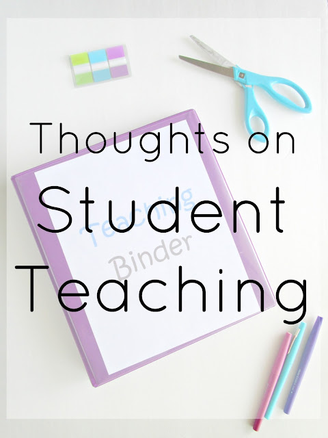 Thoughts on Student Teaching
