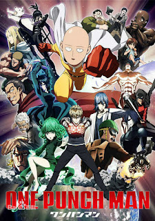 Download One Punch Man BD Subtitle Indonesia Batch Episode 1 – 12 + OVA