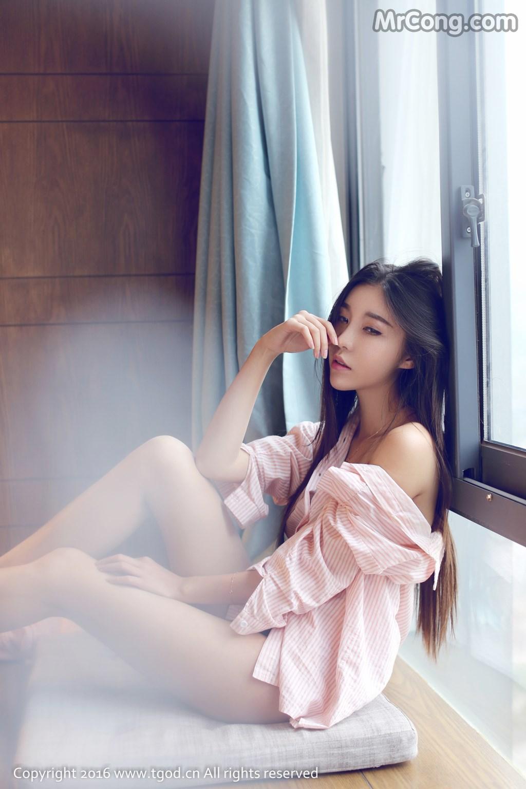 TGOD 2016-02-14: Người mẫu Tian Er (恬儿) (45 ảnh)