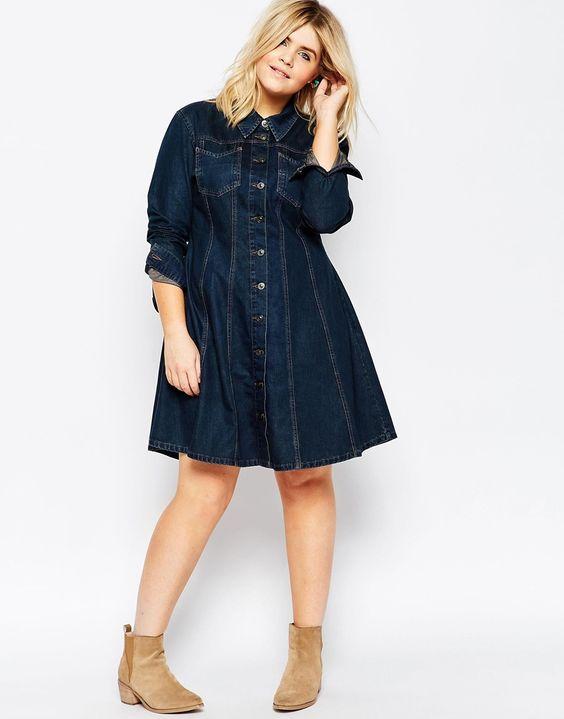 Vestidos De Jeans Para Gorditas
