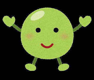 グリーンピースのキャラクター