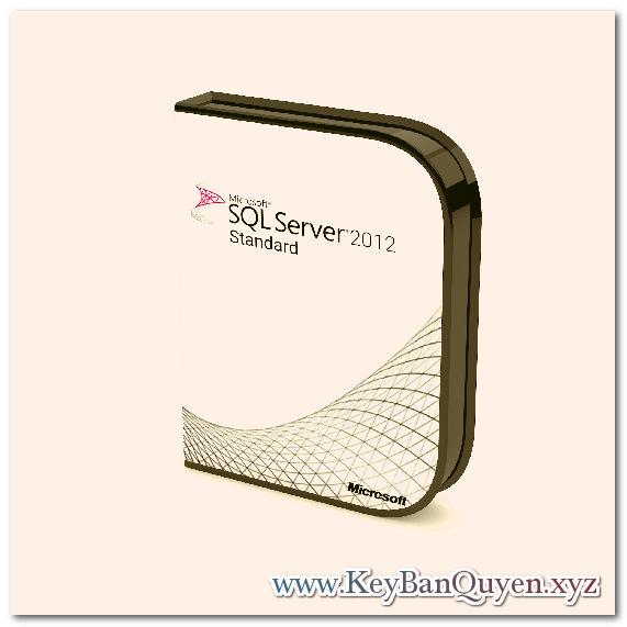 Mua bán key bản quyển SQL Server 2012 Standard