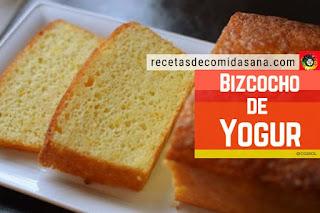 Bzcocho de Yogur