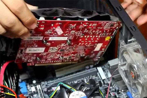 Memasang Video card
