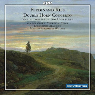 Ries, F.: Concerto for 2 Horns, Woo 19 / Violin Concerto