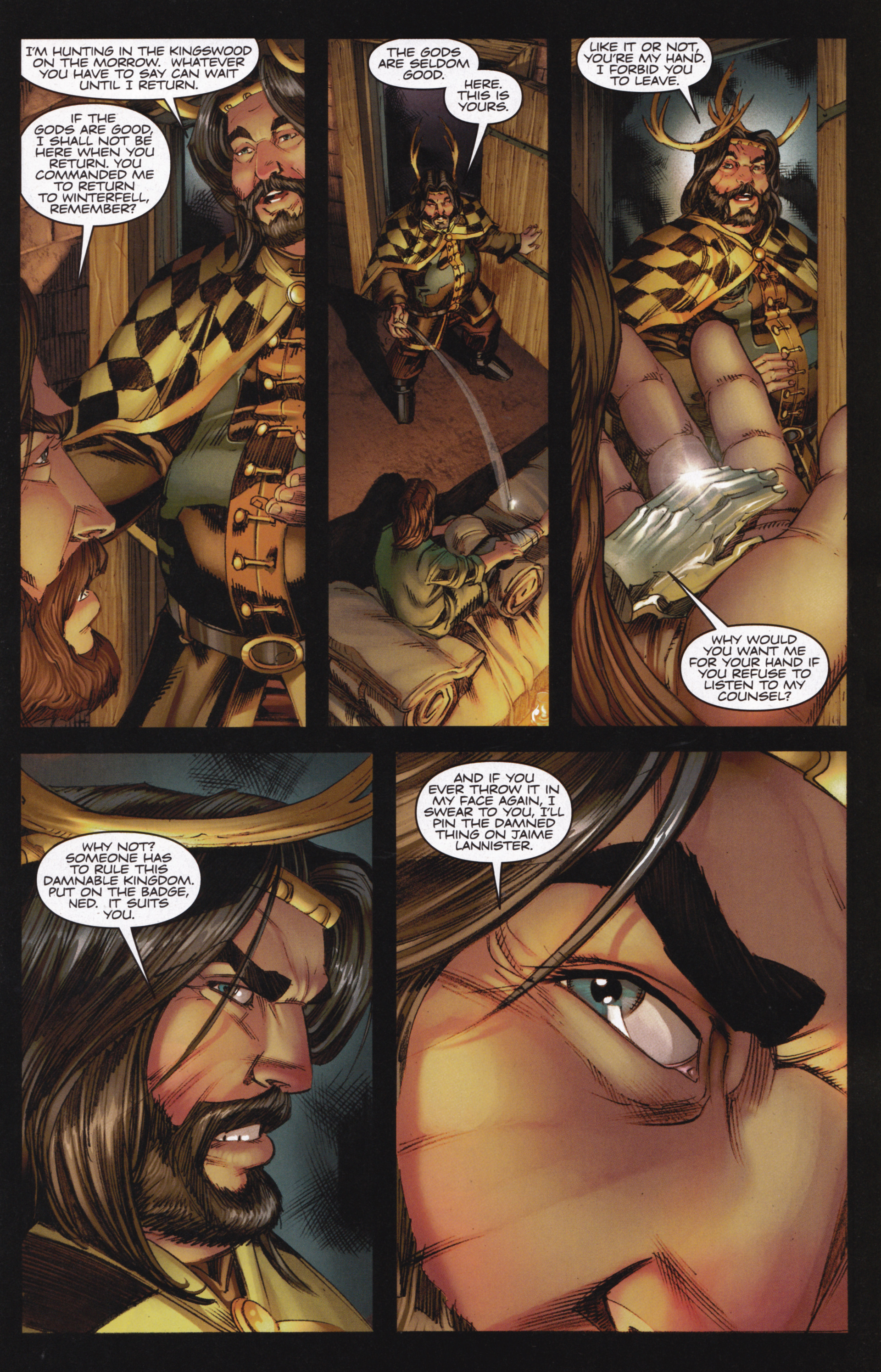 Read online A Game Of Thrones comic -  Issue #13 - 9