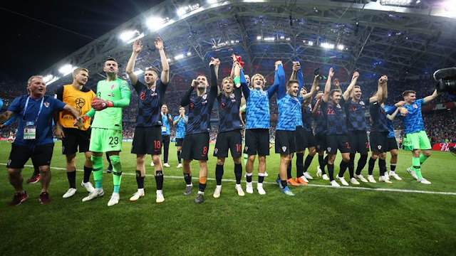 Russia vs Croatia (2-2): Croatia beat Russia on penalties (4-3 ) to set up England FIFA World Cup semi-final