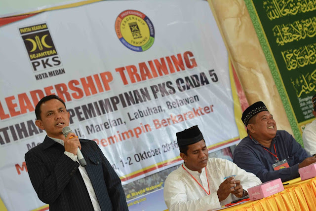 Tingkatkan Kualitas Kader, PKS Kota Medan Gelar Training Kepemimpinan