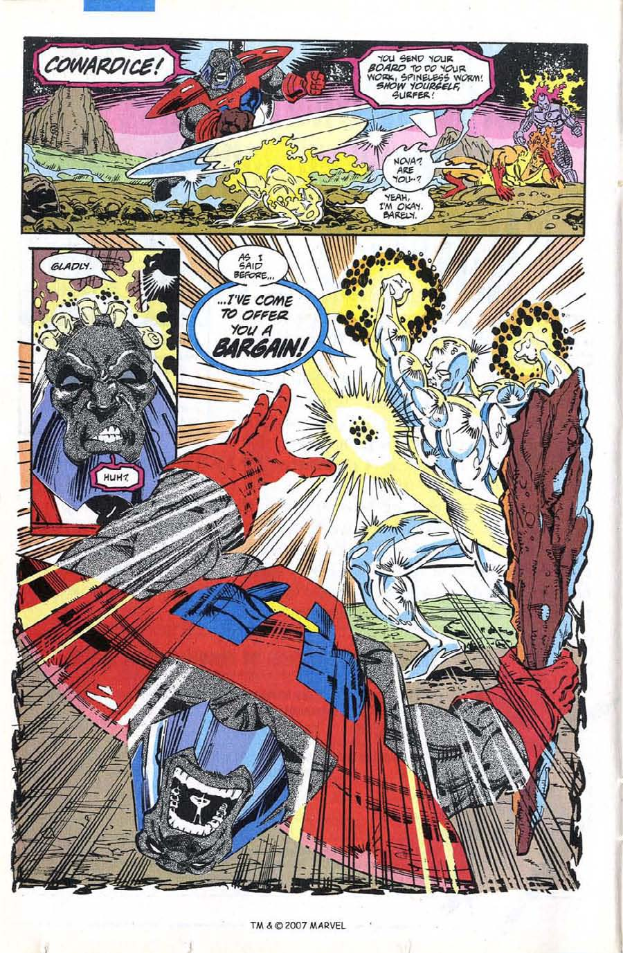 Read online Silver Surfer (1987) comic -  Issue #74 - 16