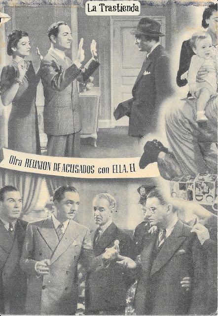 Programa de Cine - Otra Reunión de Acusados - William Powell - Myrna Loy