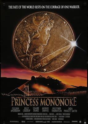 Original Mediallion Used for Princess Mononoke Poster