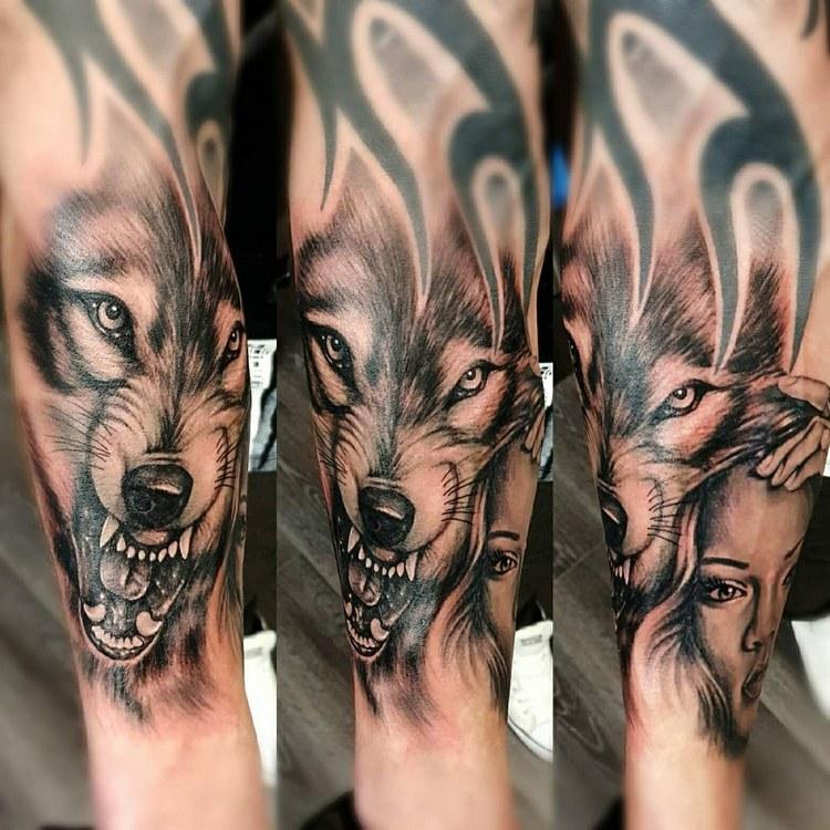 Tattoo ideas, tattoo wolf geometric, wolf tattoo meaning, wolf tattoo tumblr