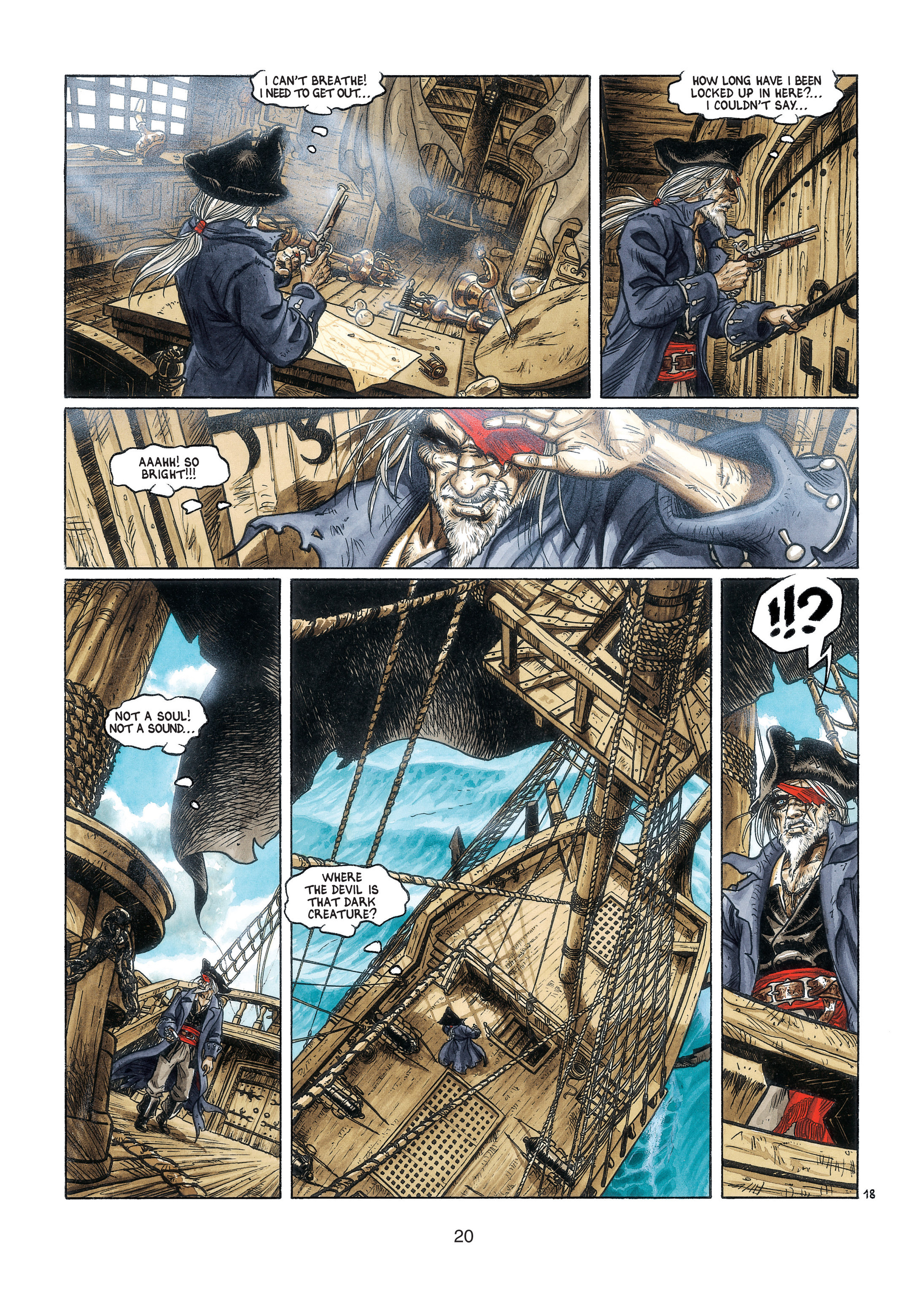 Read online Barracuda comic -  Issue #3 - 21