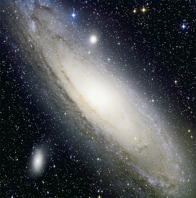 "M31 - ""The Andromeda Galaxy"" Imaged via Insight Observatory's ATEO Portal on it's 16"" f/3.7 Remote Robotic Telescope (ATEO-1)."