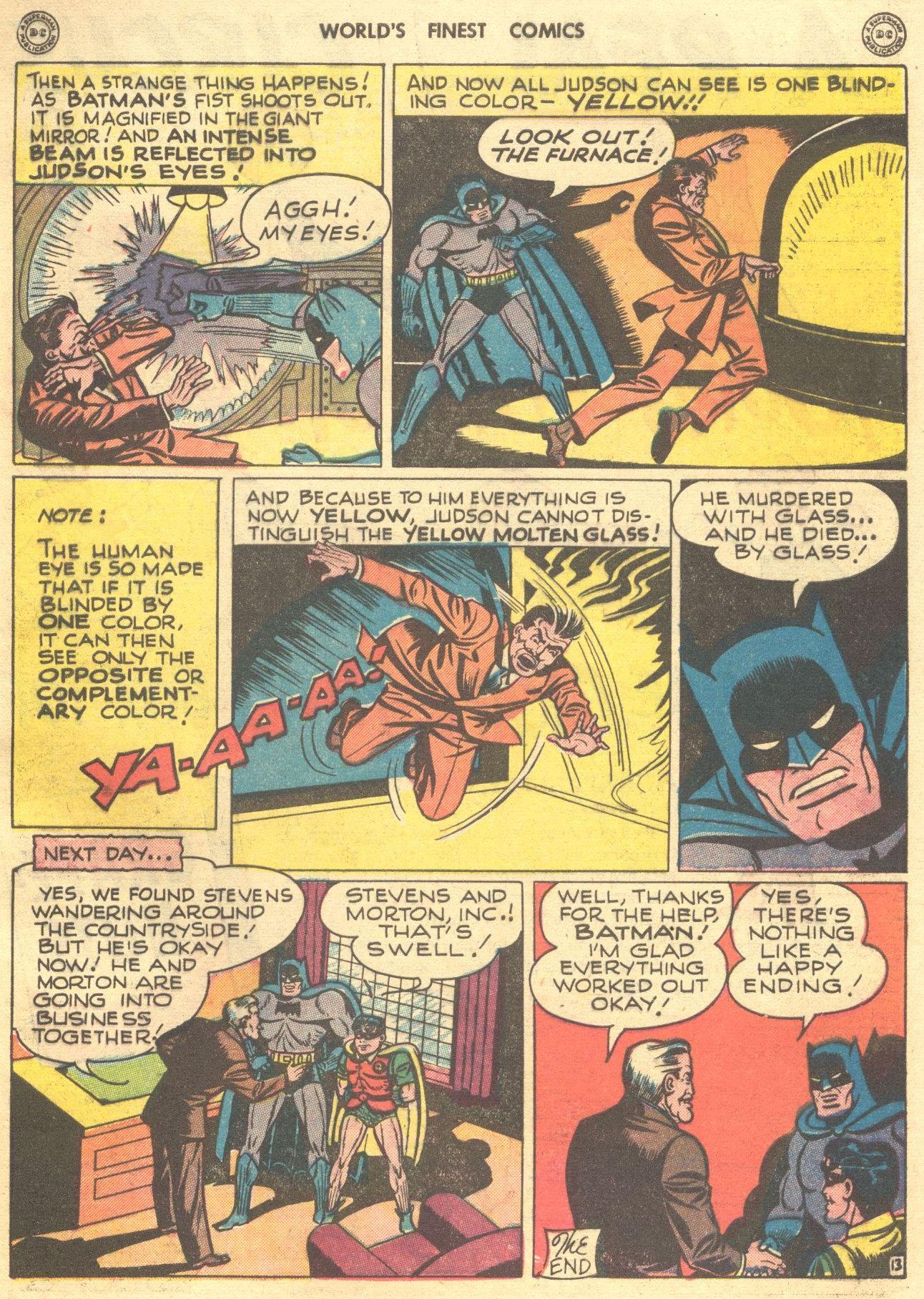 Read online World's Finest Comics comic -  Issue #28 - 72