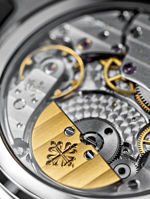 Detail of the Patek Philippe Calibre 240