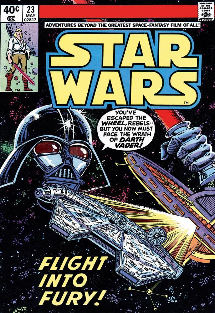 824a244dc3d3 The Geeky Nerfherder  Cool Art  Classic Marvel Comics  Star Wars ...