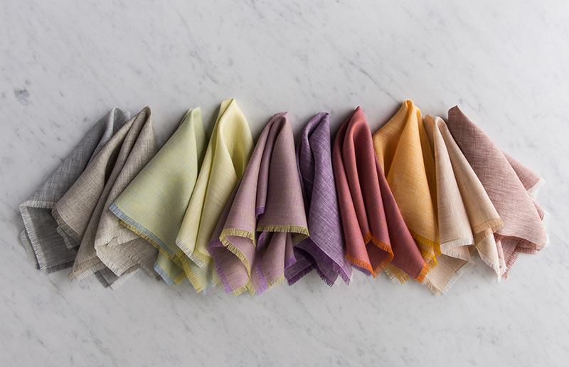 Passo-a-passo para guardanapos de tecido