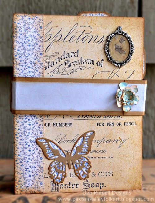 Handmade Folio Album by Deb Riddell Designs