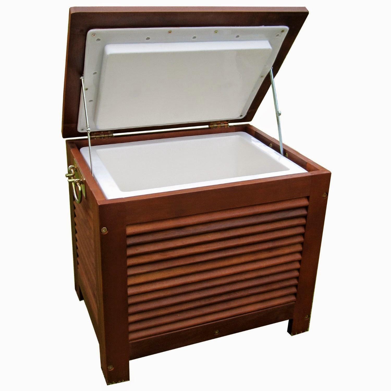 Merry Garden Wooden Patio Cooler