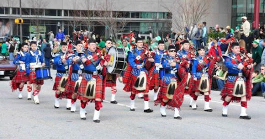 FREE Baltimore Family Event: 62nd Saint Patrick Parade & Shamrock 5K Race - Sunday, March 12, 2017