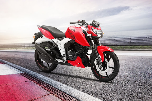 New 2018 TVS Apache RTR 160 4V cool bike