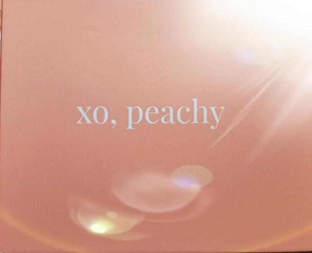 xo, peach box x gilt city review
