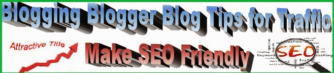 blog blogger blogging tips for seo