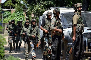 Three Jaish-e-Mohammad  based terrorist captured in Jammu and Kashmir.