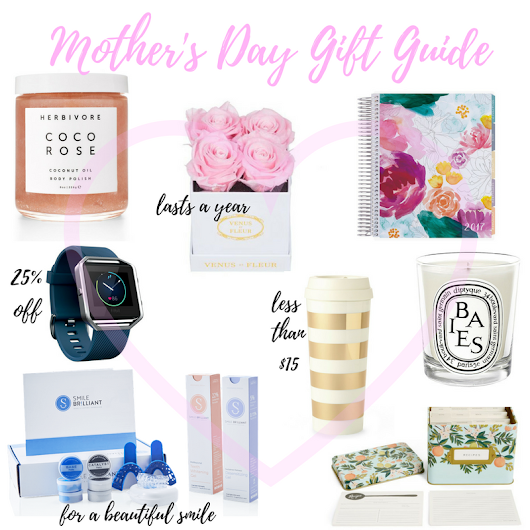 Mother's Day Gift Guide + Special Coupon Code