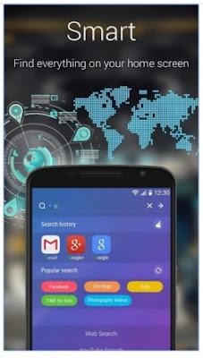 Aplikasi Tema Tampilan GO Launcher EX Terbaru APK Android