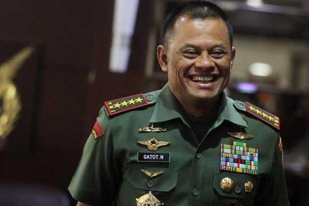 Elektabilitas Jenderal Gatot Naik karena 'Dipecat Mendadak'