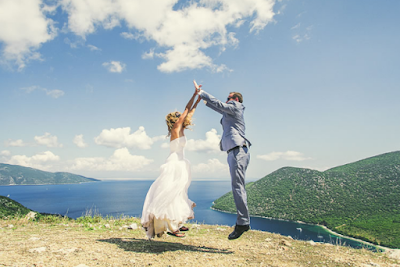 Say I Do Surrounded By The Mythical Beauty Of a Greek Paradise
