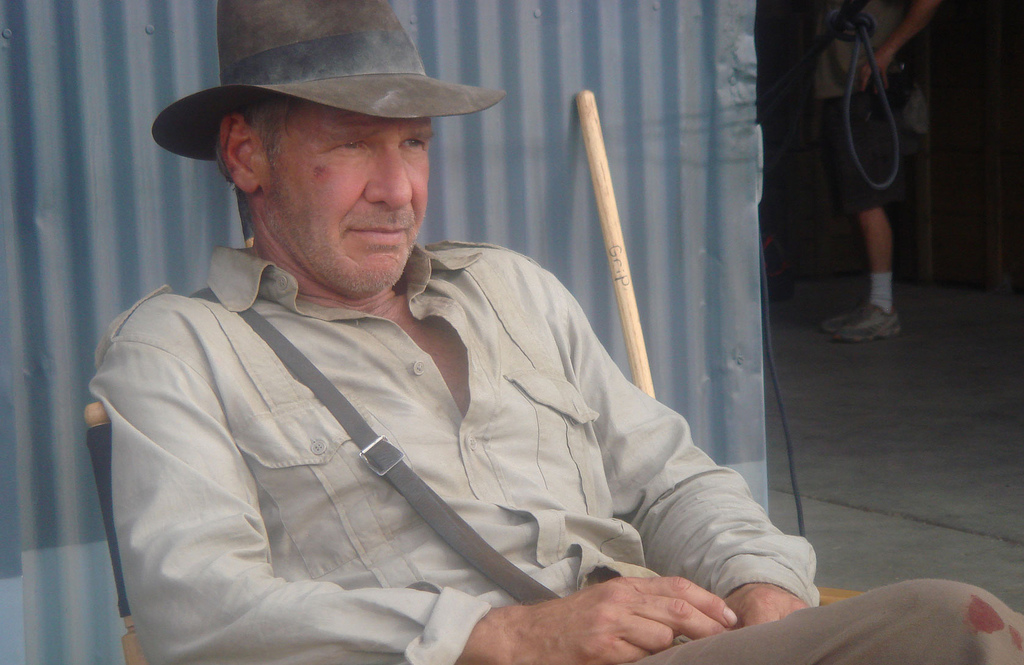 Imagen de Harrison Ford en Indiana Jones 4
