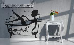 Do you wish to give an elegance touch to your house and are looking for ways to do it? If yes then you have an excellent option of decals and wall art. & Modern Vinyl Wall Art Decals | Wall Stickers | Wall Quotes: Bathroom ...