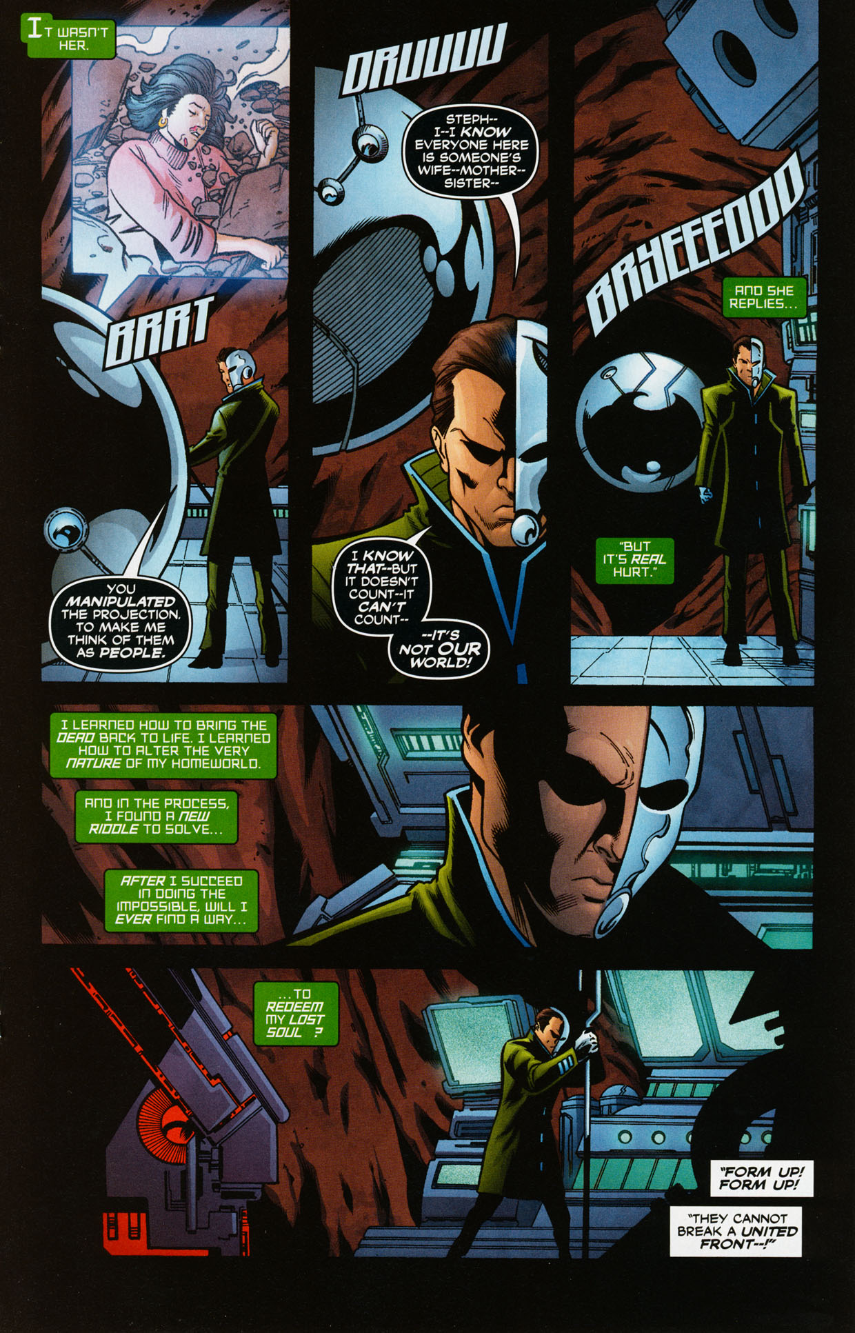 Read online Trinity (2008) comic -  Issue #35 - 18