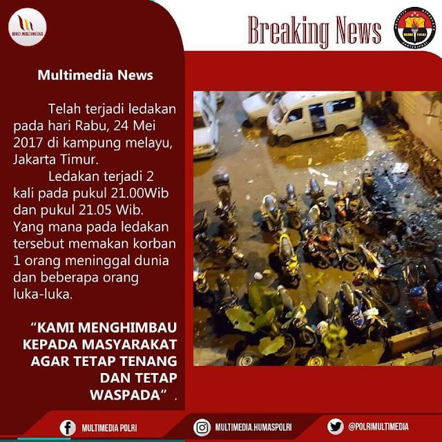 Ledak BOM di Terminal Kampung Melayu