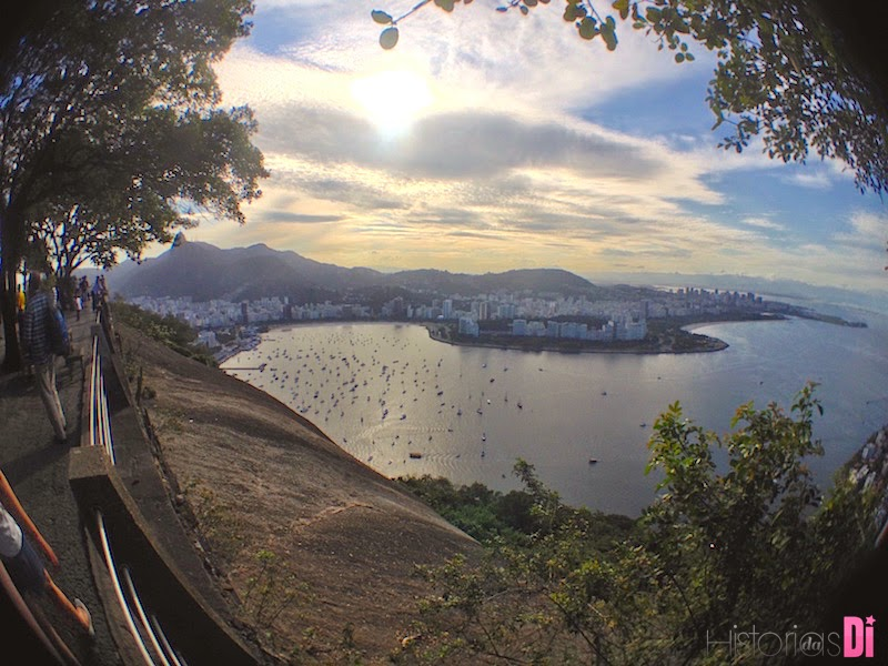 Linda vista da Enseada de Botafogo e da Praia do Flamengo