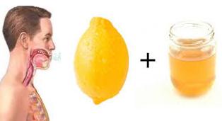 Λεμόνι και μέλι για το βήχα