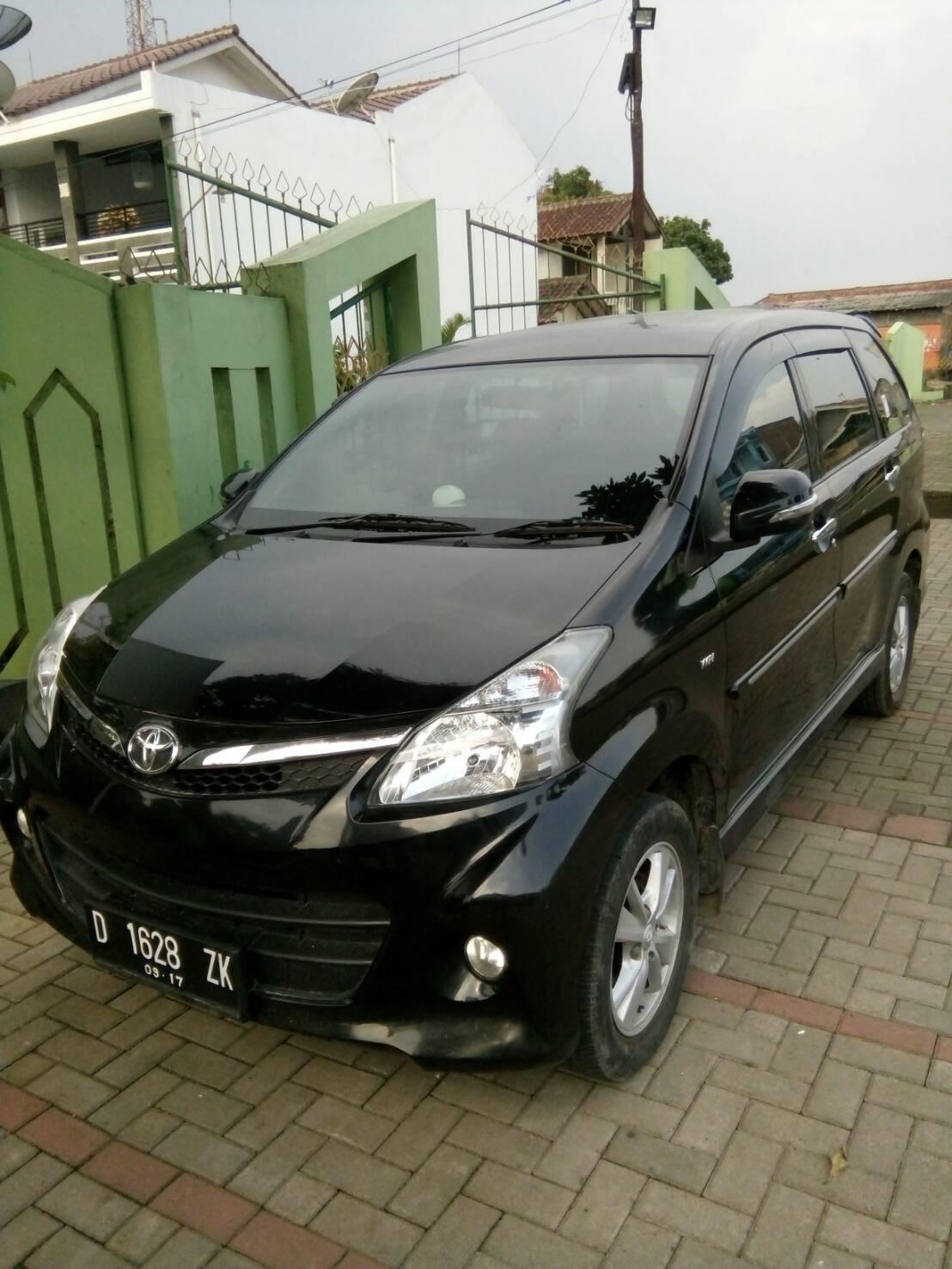 Cara Setting Alarm Grand New Avanza Ukuran Wiper Wts Jual Mobil Veloz 2012 M T Hitam Metalik